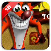 Crash Adventure of Bandicoot 2 icon