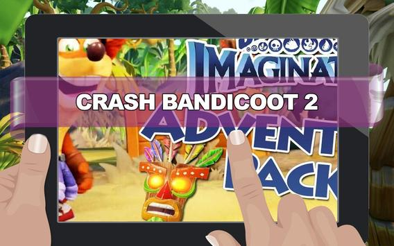 Crash Adventure of Bandicoot 2 poster