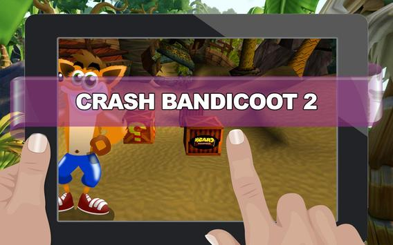 Crash Adventure of Bandicoot 2 apk screenshot