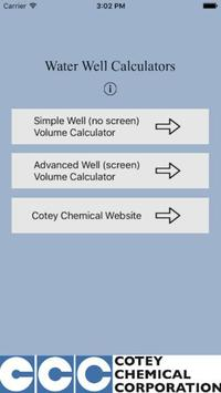 Water Well Calculator 3 poster