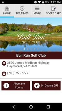 Bull Run Golf Club poster