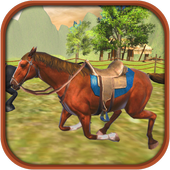Cowboy Horse Racing Simulator - World Championship icon