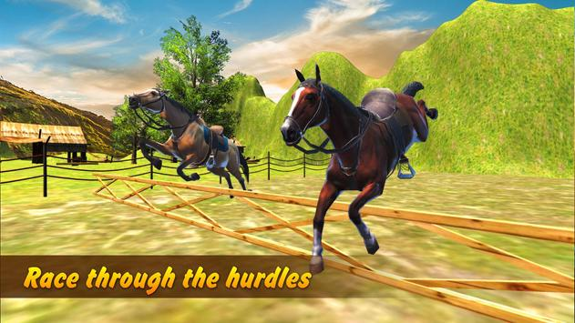 Cowboy Horse Racing Simulator - World Championship apk screenshot