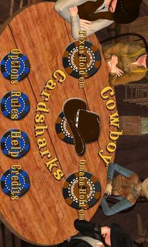 CCHoldemFREE - Cowboy Cardsharks Hold'em FREE poster