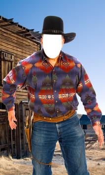 Cowboy Photo Montage screenshot 6