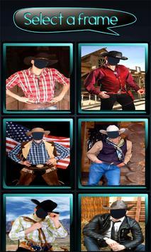 Cowboy Photo Montage screenshot 1