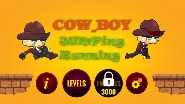 Cow_Boy Jumping Running apk screenshot
