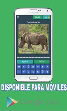 Adivina el nombre del animal screenshot 1