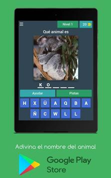 Adivina el nombre del animal screenshot 3