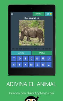 Adivina el nombre del animal screenshot 5