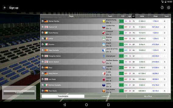 iClub Manager 2 apk screenshot