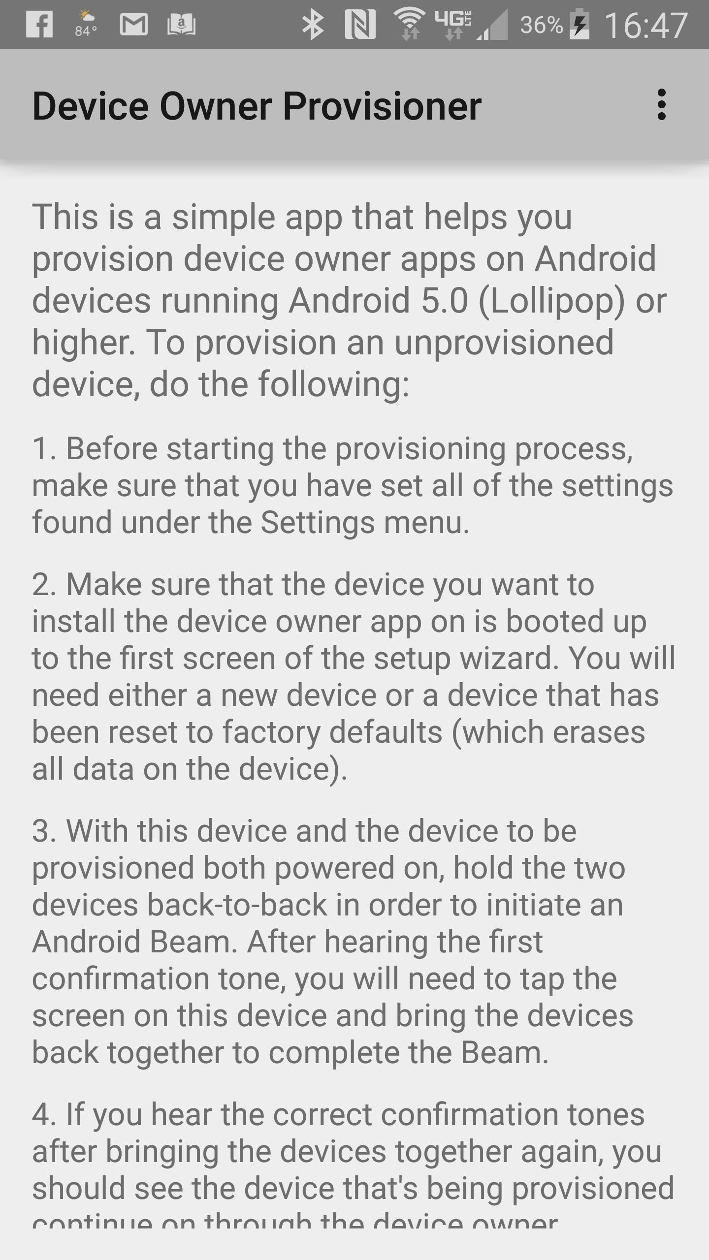 Device Owner Provisioner for Android - APK Download