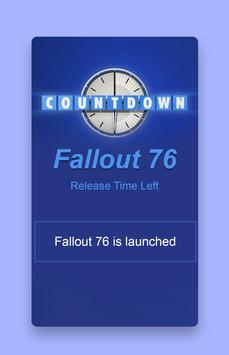 Countdown For Fallout 76 Wallpaper Screenshot