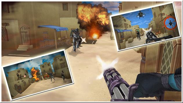 Counter City Gunner War 🔫 apk screenshot