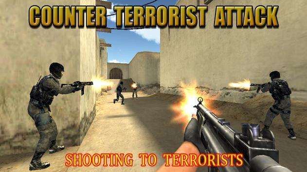 Counter Terrorist Attack Death poster