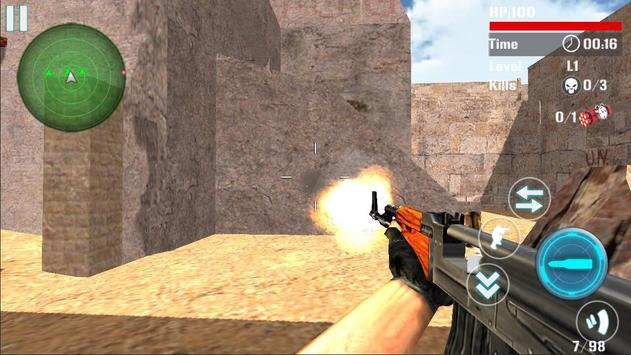 Counter Terrorist Attack Death apk screenshot