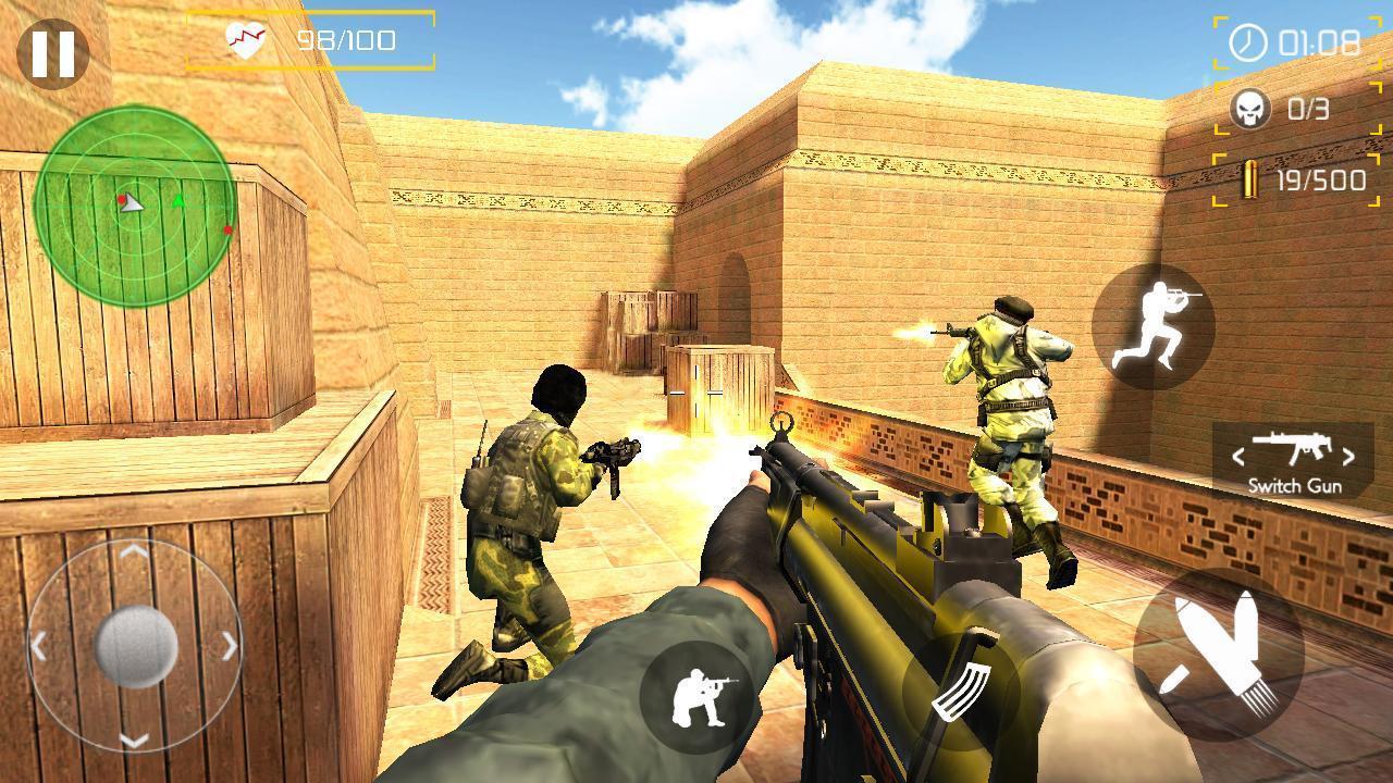 download game counter terrorist strike shoot mod apk