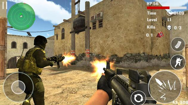 Counter Terrorist Shoot apk screenshot