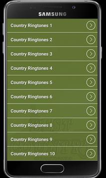 Country Ringtones free screenshot 1