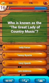 Country Music Fun Game Quiz screenshot 8