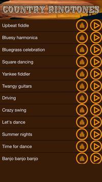 Free Country Music Ringtones screenshot 2
