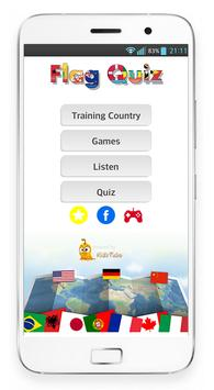 Learn Country - Flag Quiz 2018 poster