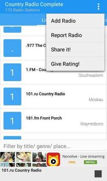 Country Radio Complete apk screenshot