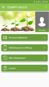 County Sacco Mobile Banking apk screenshot