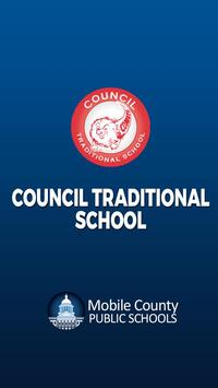 Council Traditional School poster