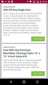 Coupons for Harbor Freight Tools and more screenshot 16