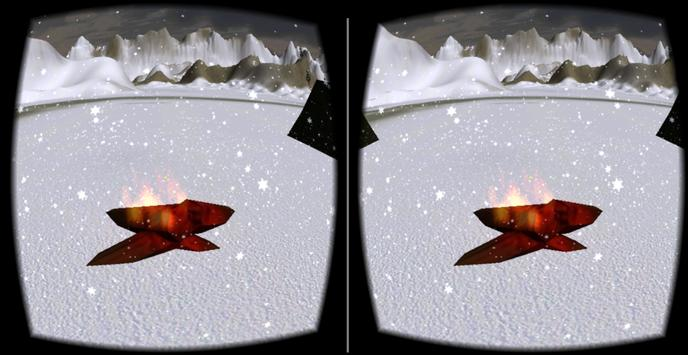 Fire and Snow Carboard screenshot 1