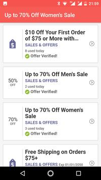 Coupons for Uniqlo discount screenshot 2
