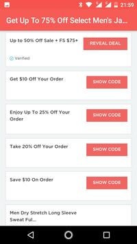 Coupons for Uniqlo discount screenshot 3