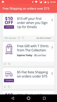 Coupons for Uniqlo discount screenshot 6