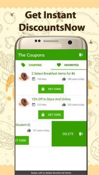Coupons for Krispy Kreme screenshot 2