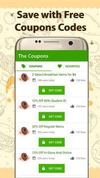Coupons for Krispy Kreme screenshot 5