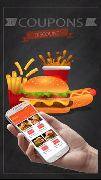 Coupons for McDonald's poster