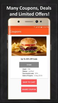 Coupons for McDonald's screenshot 2