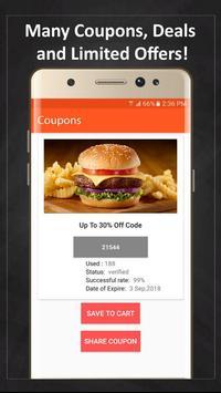 Coupons for McDonald's screenshot 6