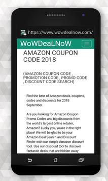 amazon codes september 2018