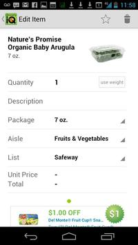 Grocery iQ apk screenshot