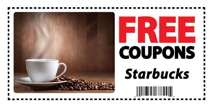 Coupons for Starbucks poster