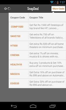 Coupons Shopping By DesiDime apk screenshot