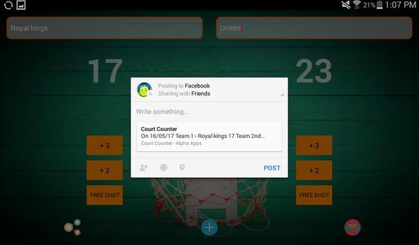 Court Counter screenshot 13