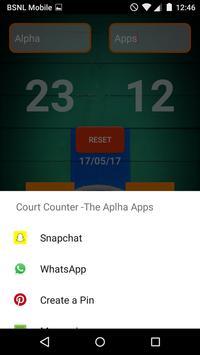 Court Counter screenshot 3