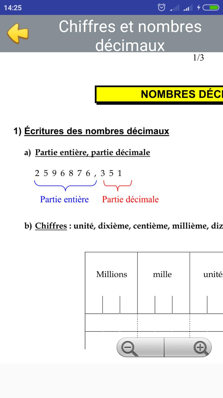 Cours De Maths 6eme For Android Apk Download