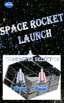 Space Rocket Launch poster