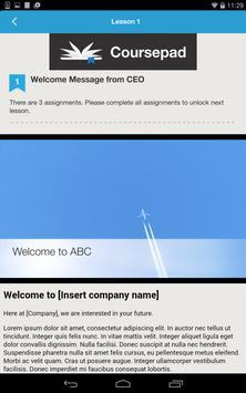 Coursepad apk screenshot