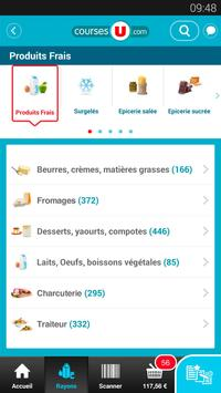CoursesU vos courses en ligne apk screenshot