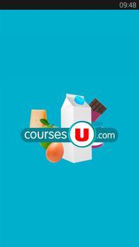 CoursesU vos courses en ligne poster